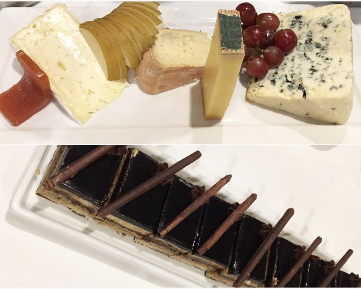 French Cheese and Assorted Desserts