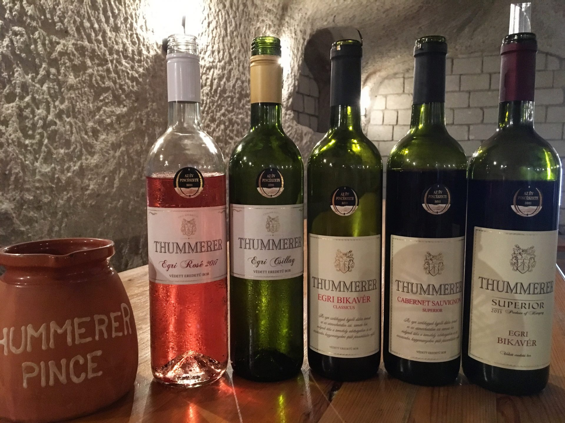 Thummerer Wine Lineup