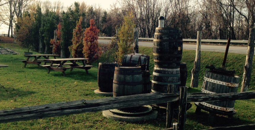 Wine Tasting in Quebec's Eastern Townships